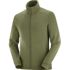 Salomon Radiant Veste zippée Homme, olive night